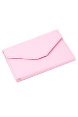 Bluelans Credit ID Card Holder Travel Passport Organizer Bag Purse Handbags Pink