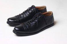 Boston Allen Sepatu Pria Kulit Kambing Asli