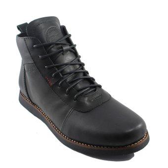 Harga Bradleys Brodo Sepatu Boots Pria - Kulit Asli Black - PriceNia.com a55ff82505