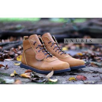 Jual Bradleys Brodo Sepatu Boots Pria - Kulit Asli Tan Anubis -  Wildansanjaya Store di Lazada 9806d0a785