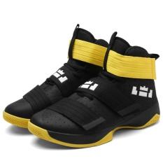 Breathable hight-heel basketball shoes couple sport shoes ourdoot basketball shoes - intl