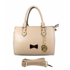 Carlo Rino 0303014-101-21 Plain color satchels (Beige)
