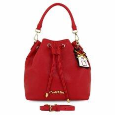 Carlo Rino 0303730-005-04 Bucket Bag (Pink,White)