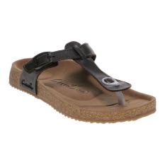 Carvil Ernest-01L Ladies Sandal Footbed - Dk Brown
