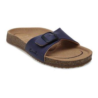Carvil Khanza-01L Footbed Sandal Wanita - Ungu