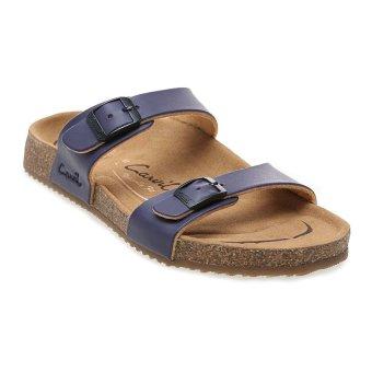 Carvil Khanza - 04L Footbed Sandal Wanita - Ungu