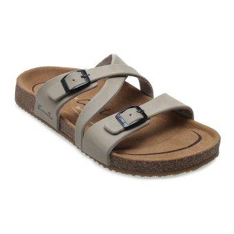 Carvil Khanza - 07L Footbed Sandal Wanita - Beige