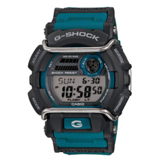 Casio G-Shock Men's Blue Resin Band Watch GD-400-2DR