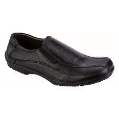 Catenzo Sepatu Kulit Semi Formal Pria MP 124 - Hitam