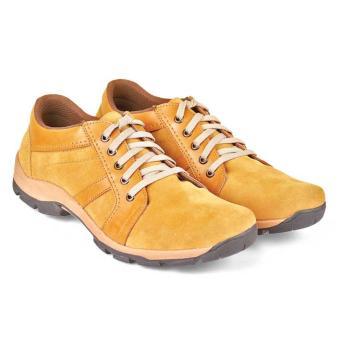 Cbr Six Atc 607 Sepatu Tracking Boots Pria-Sintetis-Keren Kuat ( Tan )