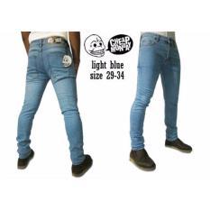 Celana Jeans Pria dan Wanita Pensil - Biowash - Kualitas bagus