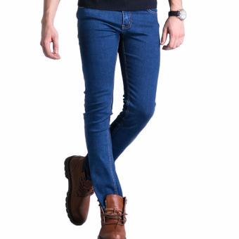 Celana Murah Pria Jeans Blue Classic (Best Seller)