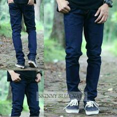 Celana Pria/Cowok Skinny Jeans / Levis / Denim [Biru Tua/Navy] Celana Jeans Panjang