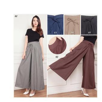 Celana rok kulot wanita jumbo Naira 05