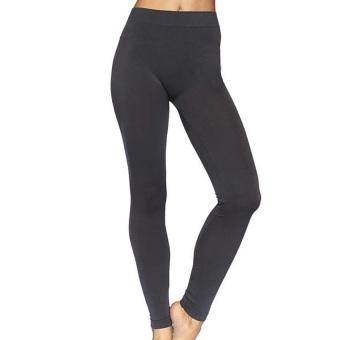 Celana Wanita Legging Polos Abu Tua - Ukuran Standar dan Jumbo