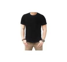 Chakie Store 99 T-Shirt Kaos Polos Lengan Pendek O Neck Hitam