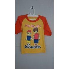 Charly Kaos Anak Perempuan / Baju Anak Muslim 05 - Multicolour
