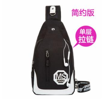 Chest Bags Outdoor Sport Hiking Back Pack Messenger Shoulder Rucksacks intl - intl