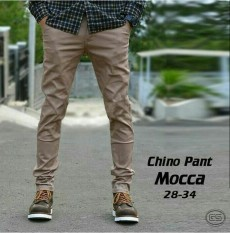 Chino Pria Celana Panjang - Mocca