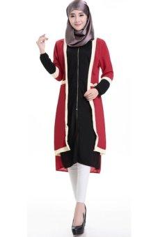 Harga Chloe s Clozette Baju Muslim Dress Gamis Lengan Panjang kode ... 9323388420