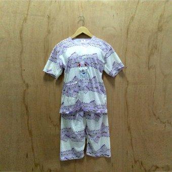 CiangMay Baju Tidur / Babydoll Cutebear (Purple)