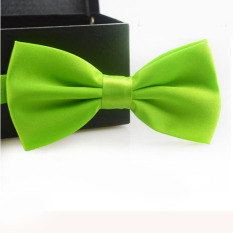Classic Fashion Novelty Mens Adjustable Tuxedo Wedding Bow Tie Necktie Green
