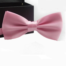 Classic Fashion Novelty Mens Adjustable Tuxedo Wedding Bow Tie Necktie Pink