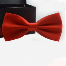 Classic Fashion Novelty Mens Adjustable Tuxedo Wedding Bow Tie Necktie Red