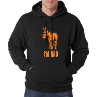 Clothing Online Hoodie I'm Bad - Hitam
