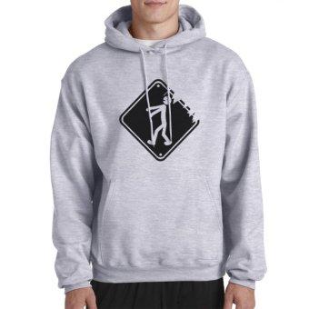 Clothing Online Hoodie Sleep Walking - Abu-abu