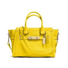 Coach Swagger 27 Pebbled - Kuning