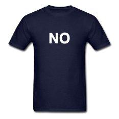 CONLEGO Creative Men's No Way T-Shirts Navy