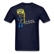 CONLEGO Funny Cotton Men's Navy Muppetbus T-Shirts Navy - Intl