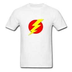 CONLEGO Personalize Men's Flash Design T-Shirts White