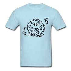 CONLEGO Personalize Men's Schleimkugel Monster T-Shirts Sky Blue - Intl