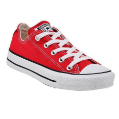 Converse Chuck Taylor As Canvas Ox Unisex Sneakers - Merah