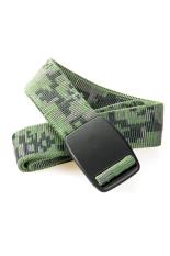 Cool Camouflage Print Unisex Men Women Outdoor Nylon Belt Buckle Belt Waistband Army Green