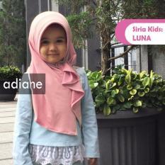 Copio Jilbab kerudung hijab Anak instan Luna Kids By Adiane – pink