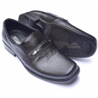 Crocodile Sepatu Formal Sepatu Kerja - Sepatu Pantofel Pria - Kulit Asli  Pria - A2 Hitam 0ba37cf91d