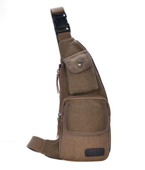 Crossbody Shoulder Messenger Bag Machete Stylish Bag-Coffee - Intl