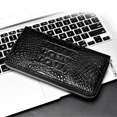 Crown Crocodile Skin Handbag Men Hand Bag Bag Alligator Purse Long Card Package Bulk Clutch