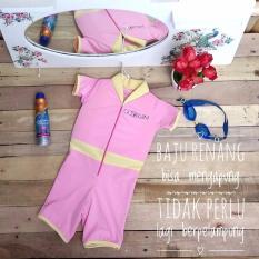Cuddle Me GoSwim Baju Renang Anak Baby Pink