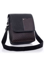 Business Crossbody Messenger Bag (Black)