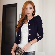 Cyber New Spring Fashion Blazer Short Sexy Casual Suits Jacket Coat Outerwear For Women Slim Blazer