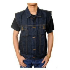 D1NY Collection Rompi Pria Denim Biru Garmen