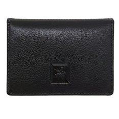 David Jones International - Dompet Kartu / Card Holder Kulit Pria - Kulit Asli - 1143 - Hitam