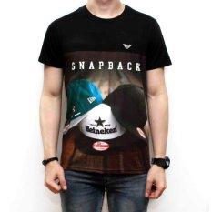 DEcTionS Kaos T-shirt 3D Urban Snapback