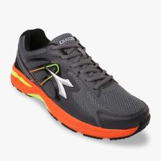 Diadora Damiano Men's Running Shoes - Abu-abu