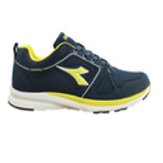 Diadora Denta Sepatu Lari Pria - Blue/Lime
