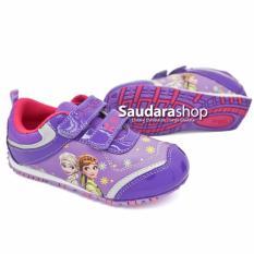Disney Magical Snow Sepatu Anak Frozen Ungu [26-30] / Sepatu Frozen Ungu